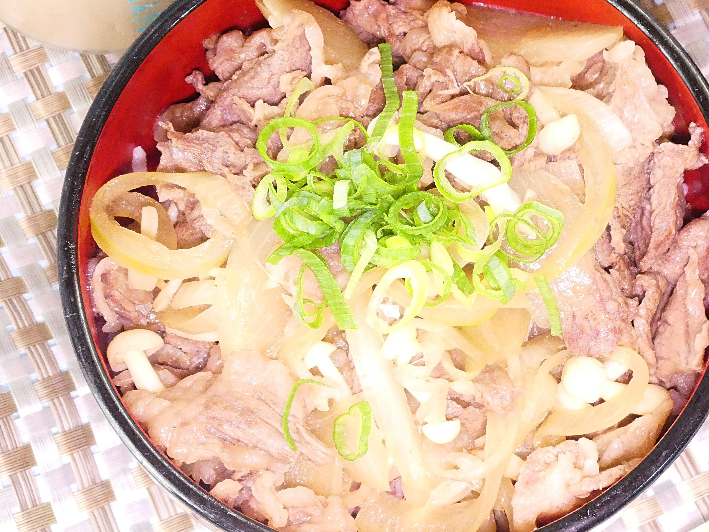 ブナピー牛丼
