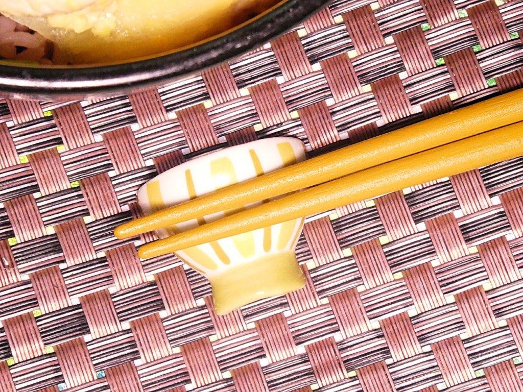 丼の箸置き
